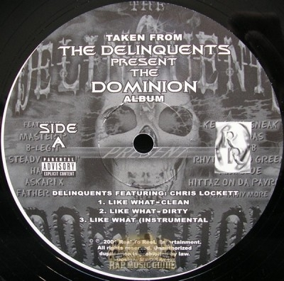 Delinquents - Like What