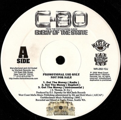 C-Bo - Get The Money / Death Riderz