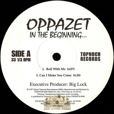 Oppazet - In The Beginning EP