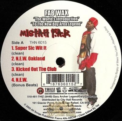 Mistah F.A.B. - Fab Wax
