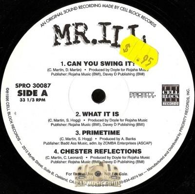 Mr. ILL - The Rebirth EP