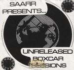 Saafir - Unreleased Boxcar Sessions