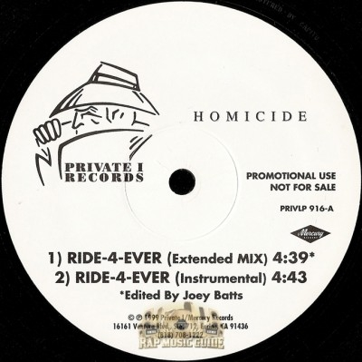 Homicide - Ride-4-Ever