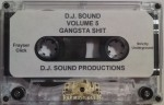 DJ Sound - Volume 5 Gangsta Shit