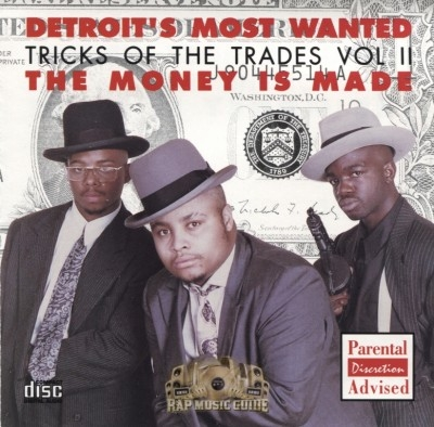 Detroit's Most Wanted - Tricks Of The Trades Vol. II - The Money Is Made