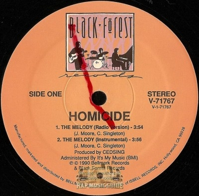Homicide - The Melody