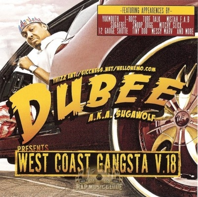 Dubee - West Coast Gangsta V.18