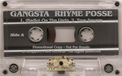 Gangsta Rhyme Posse - On Da Unda