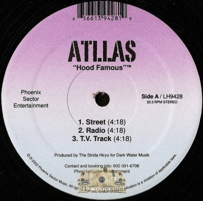 Atllas - Hood Famous