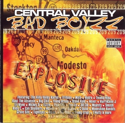 Central Valley Bad Boyzz - Explosive