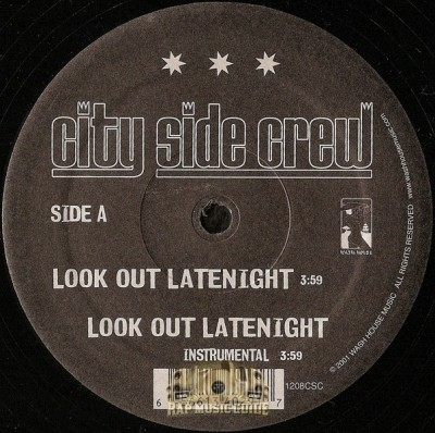 City Side Crew - Look Out Latenight