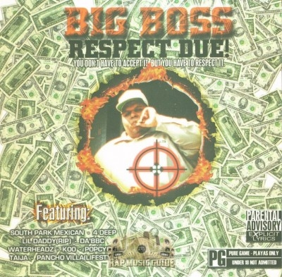 Big Boss Of 4 Deep - Respect Due