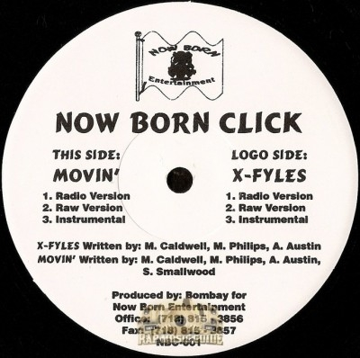 Now Born Click - Movin' / X-Fyles