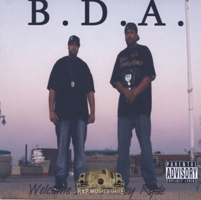 B.D.A. - Welcome 2 Da Alley Ryde