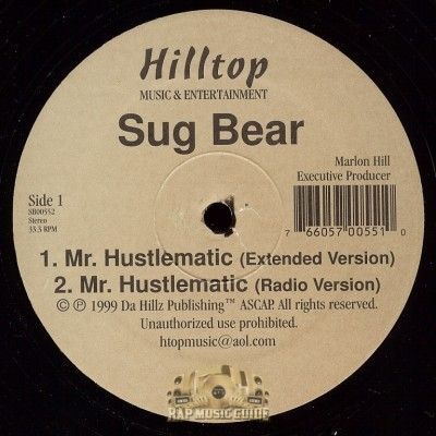 Sug Bear - Mr. Hustlematic