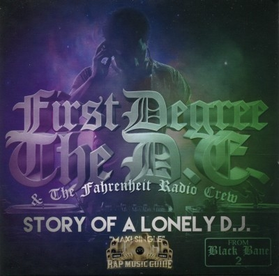 First Degree The D.E. - Story Of A Lonely D.J.