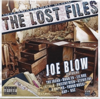 Joe Blow - The Lost Files