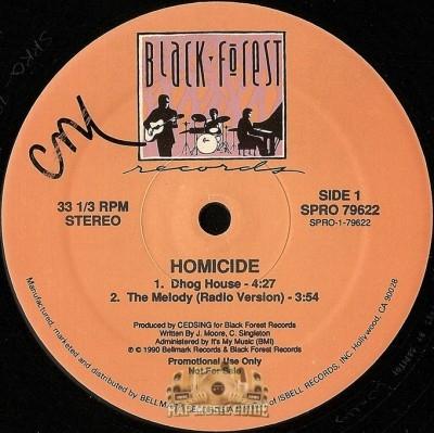 Homicide - Dhog House