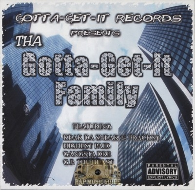Tha Gotta-Get-It Family - Gotta-Get-It Records Presents