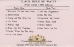 Black Hole Of Watts - New Deal / 550 Music
