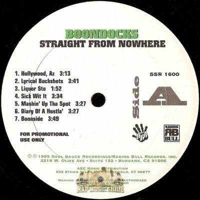 Boondocks - Straight From Nowhere