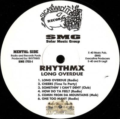 RhythmX - Long Overdue