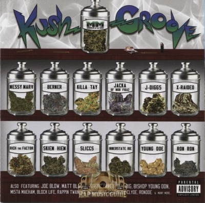 Middle Of The Map Presents - Kush Groove