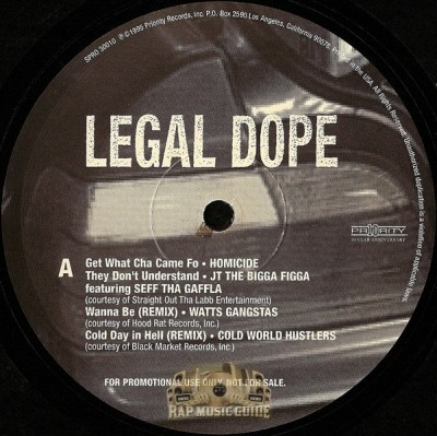 Legal Dope - Legal Dope
