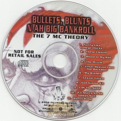 Andre Nickatina - Bullets, Blunts N Ah Big Bankroll: The 7 MC Theory