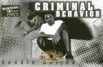 Criminal Behavior - Sendin Soljas