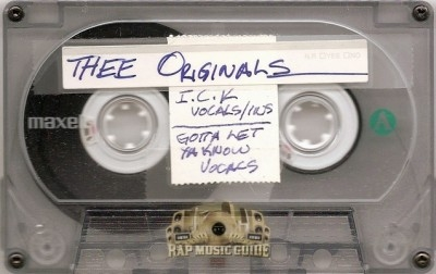 Thee Originals - I.C.K. / Gotta Let Ya Know