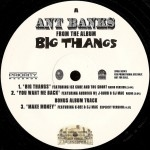 Ant Banks - Big Thangs / You Want Me Back