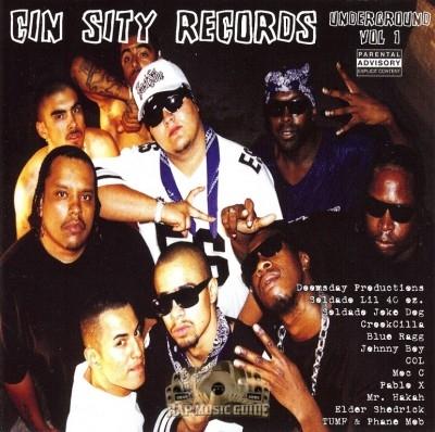 Cin Sity Records - Underground Vol. 1