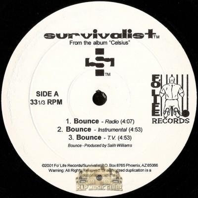 Survivalist - Bounce / West