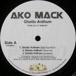Ako Mack - Ghetto Anthum