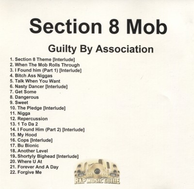 Section 8 Mob - Guilty By Association