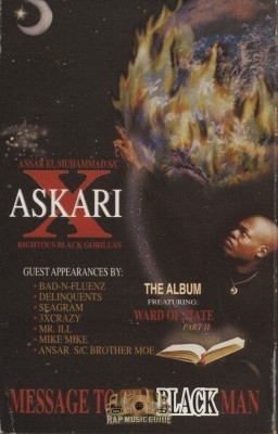 Askari X - Message To The Black Man