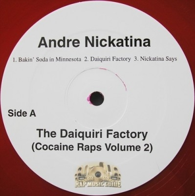 Andre Nickatina - The Daiquiri Factory (Cocaine Raps Volume 2)