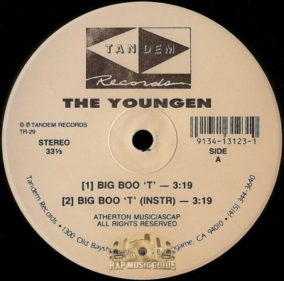 The Youngen - Big Boo 'T' / Back To Reality
