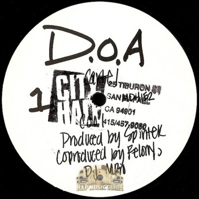 D.O.A. - Cool / Definition Of A Maniac