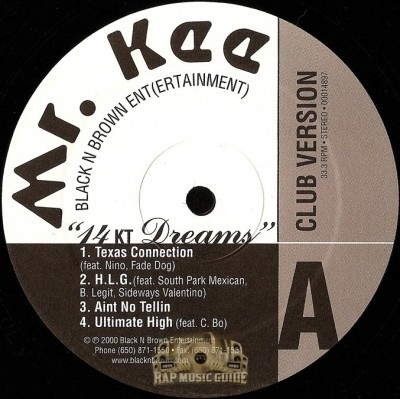 Mr. Kee - 14 Kt. Dreams (Club Version)
