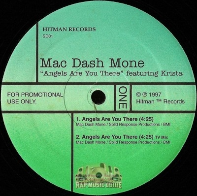 Mac Dash Mone - Angels Are You There