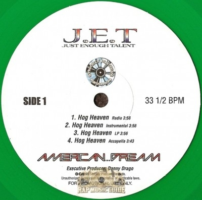 JET - Hog Heaven / Bottom Line