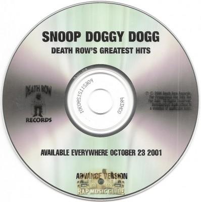 Snoop Doggy Dogg - Death Row's Greatest Hits