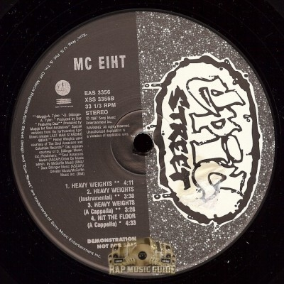 MC Eiht - Hit The Floor Remixes/ Heavy Weights