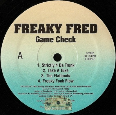 Freaky Fred - Game Check