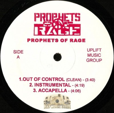 Prophets Of Rage - Out Of Control