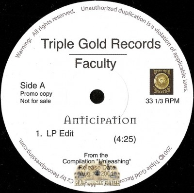 Faculty - Anticipation