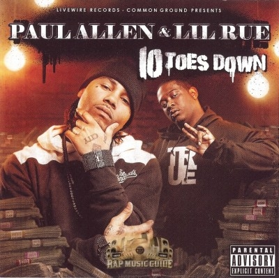 Paul Allen & Lil Rue - 10 Toes Down