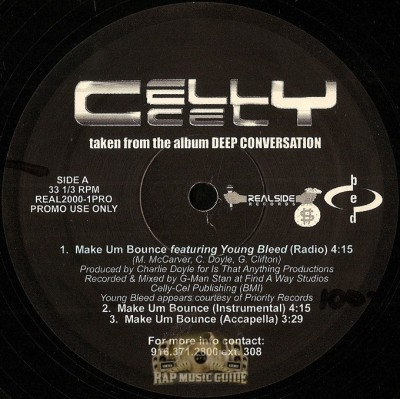 Celly Cel - Make Um Bounce / The Game Ain't Blind